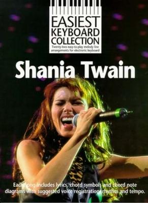 Twain Shania : Twain Shania Easiest Keyboard Collection