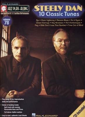 Jazz Play Along Vol.78 Steely Dan 10 Classic Tunes