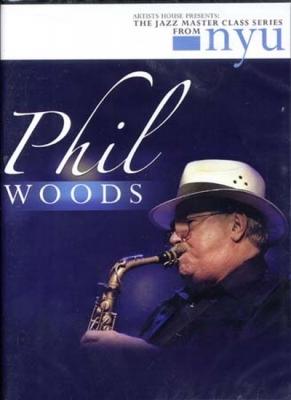 Woods Phil : Dvd Jazz Master Class Series Phil Woods