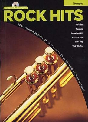 Rock Hits Instrumental Playalong Trumpet Cd