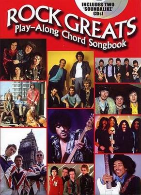 Rock Greats: Play-Along Chord Songbook