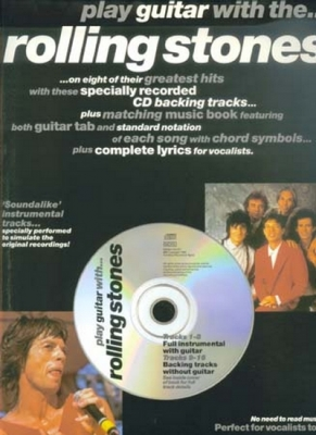 Rolling Stones The : Rolling Stones Play Guitar With Tab Cd