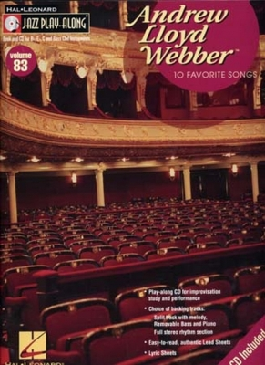 Jazz Play Along Vol.83 A. L. Webber 10 Favorite Songs