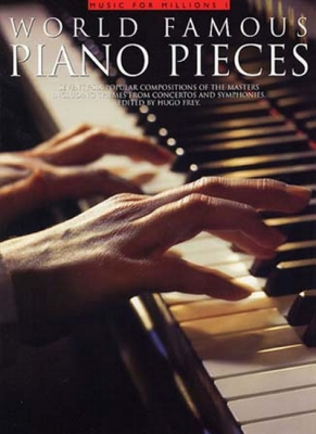 World Famous Piano Pieces 76 Compositions Piano