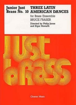Junior Just Brass No10 Three Latin American Dances