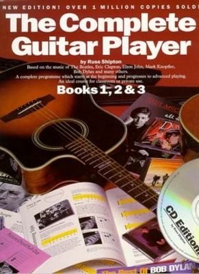 Shipton Russ : Complete Guitar Player Books 1,2,3 Cd