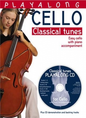 Play Along Cello Classical Tunes W/Piano Cd