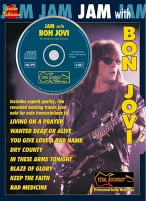 Bon Jovi : Bon Jovi Jam With Cd Tab