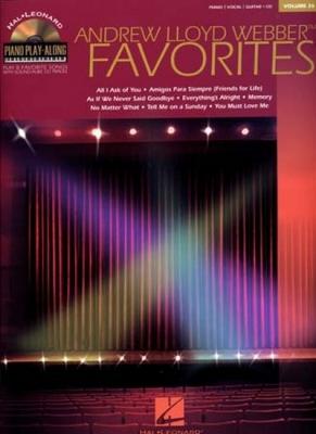 Piano Play Along Vol.26 A.L.Weber Favorites