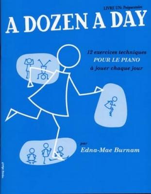 Burnam Edna Mae : Dozen A Day Livre 1 En Francais (Bleu)