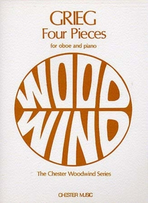 Grieg Edvard : Grieg Four Pieces Oboe/Piano