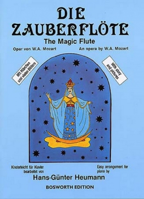 Mozart Wolfgang Amadeus : Mozart Die Zauberflote (The Magic Flute) Easy Piano