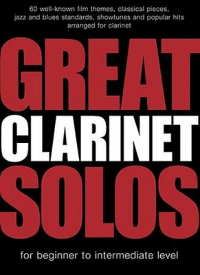 Great Clarinet Solos 60 Titles