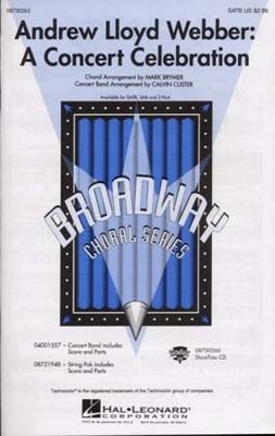 Lloyd Webber Andrew : Format Webber Andrew Lloyd A Concert Celebration Satb/Piano