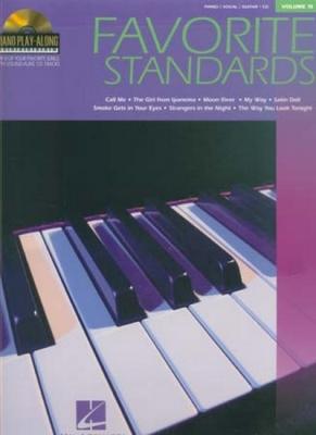 Piano Play Along Vol.15 Favorite Standards Cd