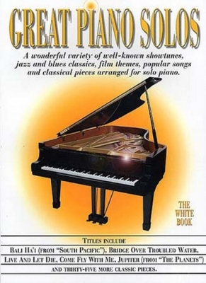 Great Piano Solos Blanc