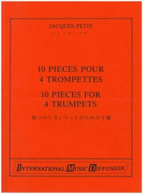 10 Pieces Pour 4 Trompettes