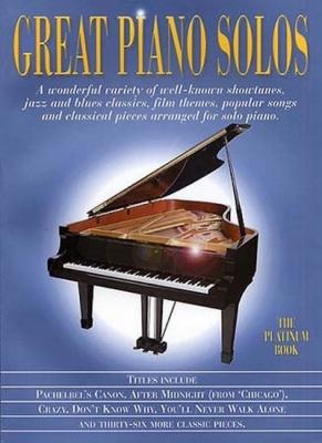 Great Piano Solos Platinum Book