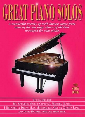 Great Piano Solos Show Book - Rose