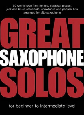 Great Saxophone Solos 60 Themes