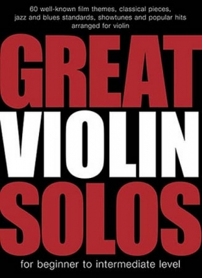 Great Violin Solos 60 Pieces