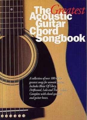 Greatest Acoustic Guitar Chord Songbook