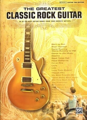 Greatest Classic Rock Guitar 39 Songs Tab