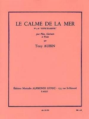 Suite Eolienne N03:Le Calme De La Mer Flûte Clarinette Et Piano