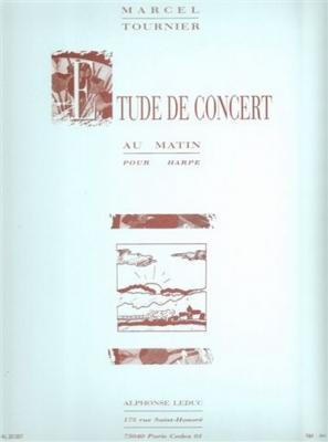 Tournier Marcel : Etude De Concert (Au Matin)