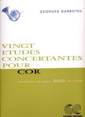 Barboteu : 20 Etudes Concertantes