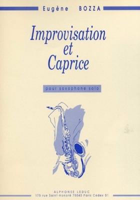 Bozza Eugène : Improvisation Et Caprice