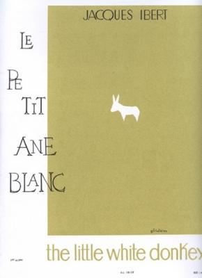Histoires N002 Le Petit Ane Blanc Flûte Et Piano