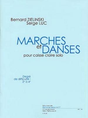 Marches Et Danses (9'21') (Degré 2 A 4) Pour Caisse Claire Solo