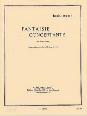 Rueff Janine : Fantaisie Concertante