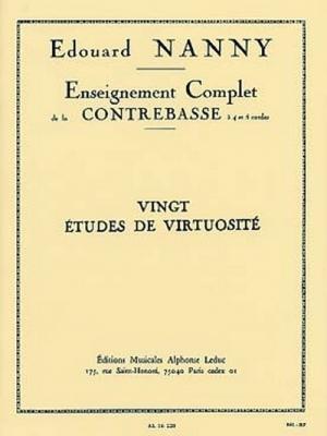 20 Etudes De Virtuosite