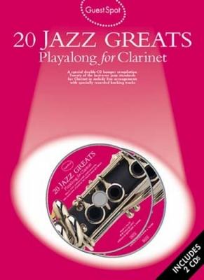 Guest Spot 20 Jazz Greats Clarinet 2Cd
