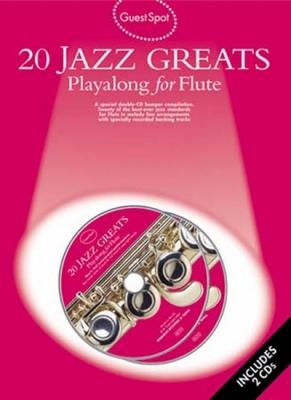 Guest Spot 20 Jazz Greats Flute 2 Cd
