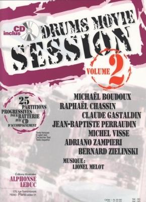 Drums Movie Session Vol.2 Elementaire A Excellence/Batterie Avec Cd