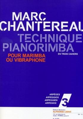 Technique Pianorimba Vol.3 Arpèges