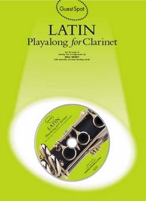 Guest Spot Latin Clarinet Cd