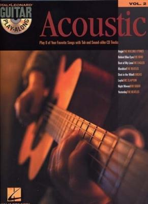 Guitar Play Along Vol.02 Acoustic Tab Cd