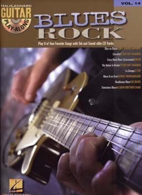 Guitar Play Along Vol.14 Blues/Rock Tab Cd