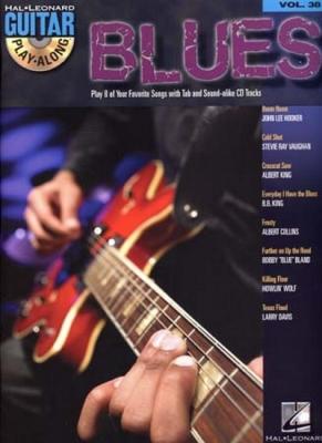 Guitar Play Along Vol.38 Blues Tab Cd