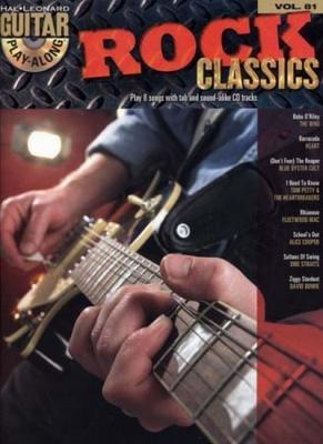 Guitar Play Along Vol.81 Rock Classics Cd