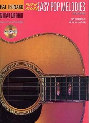 Hal Leonard Guitar Method Even More Easy Pop Melodies Cd