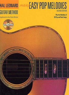 Hal Leonard Guitar Method More Easy Pop Melodies Cd