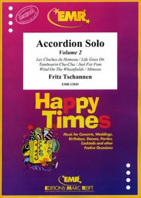Tschannen Fritz : Accordion Solo Volume 2 (6)