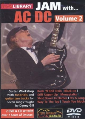 AC / DC : Dvd Lick Library Jam With Ac/Dc Vol.2 2 Dvd and 1 Cd