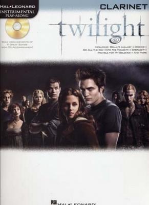 Instrumental Play Along Twilight Clarinet Cd