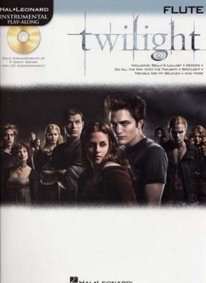 Instrumental Play Along Twilight Flute Cd
